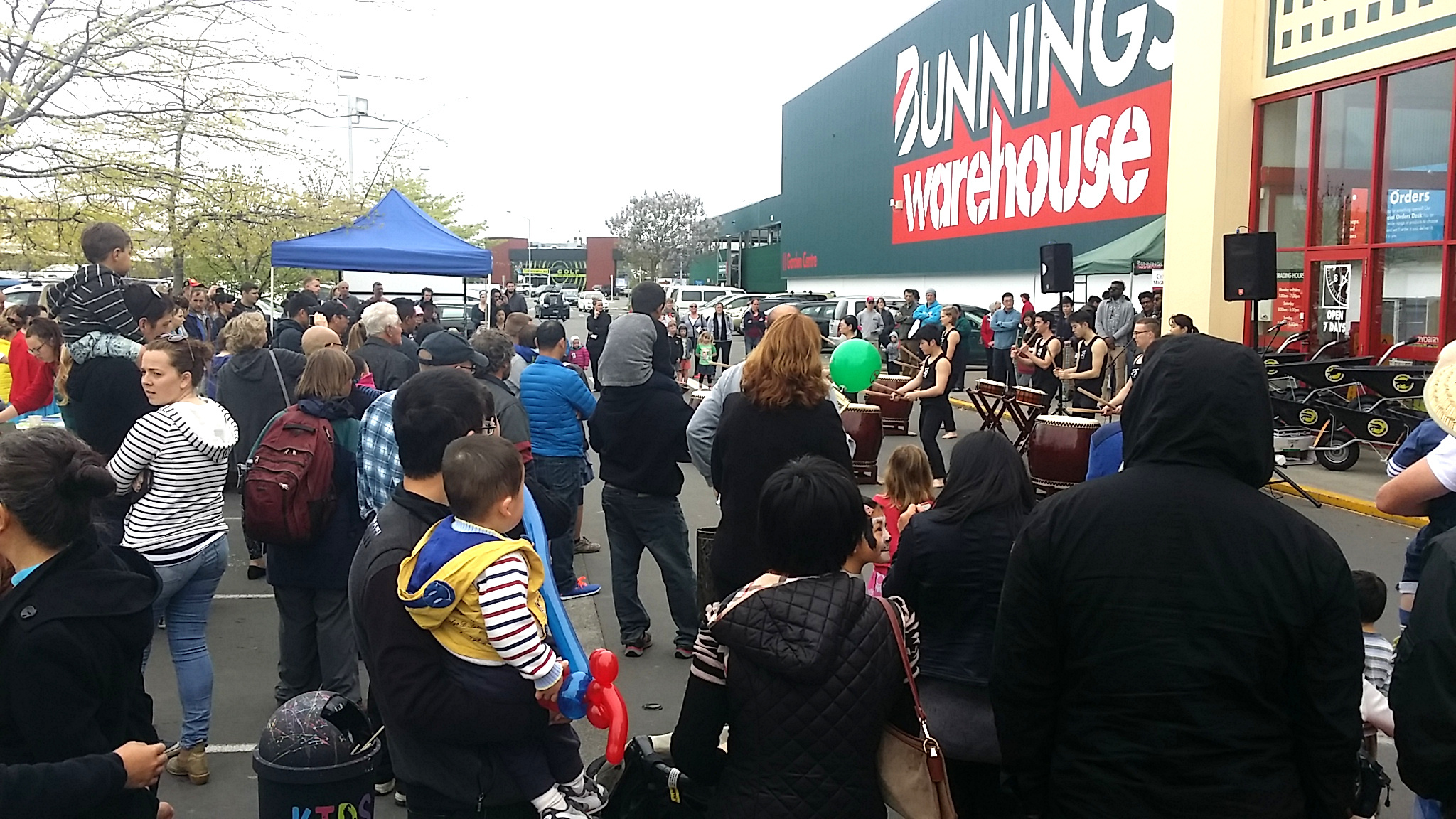 Bunnings. Thanks fr providing us the space!