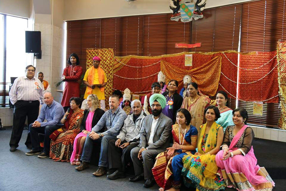 Almost 150 people attended the festivities with some participation from the wider community. The highlight of the event was India - Kaleidoscope of Cultures, depicting the diversity of the country.