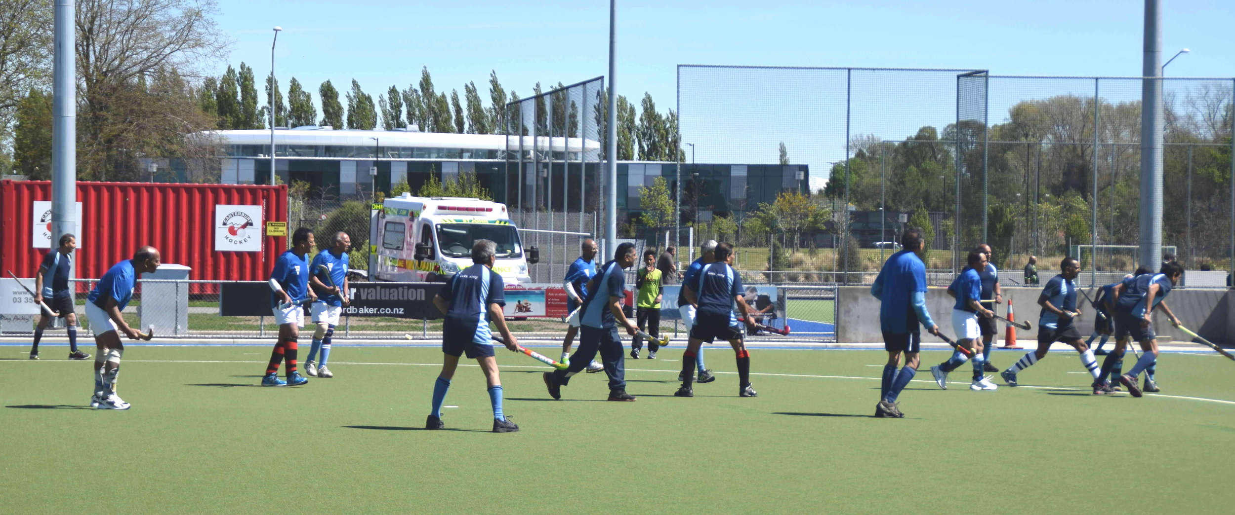 Golden Oldies showcasing their skills in Christchurch during the Labour weekend