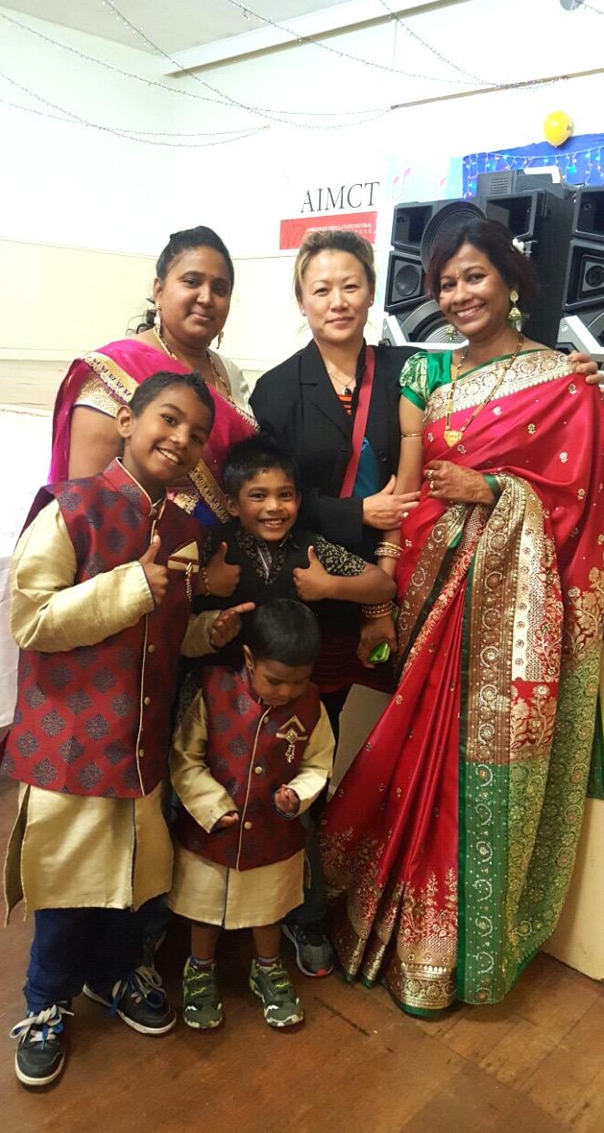 Participants at Ashburton's Diwali fest