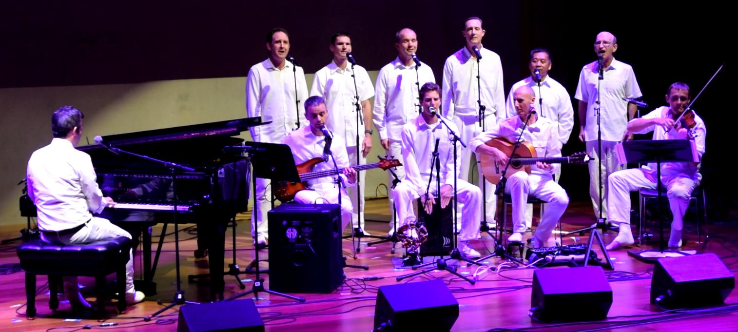 Sahadeva Torpy led Sahadeva Ensemble transforming Sri Chinmoy's melodies into a soulful and powerful homage