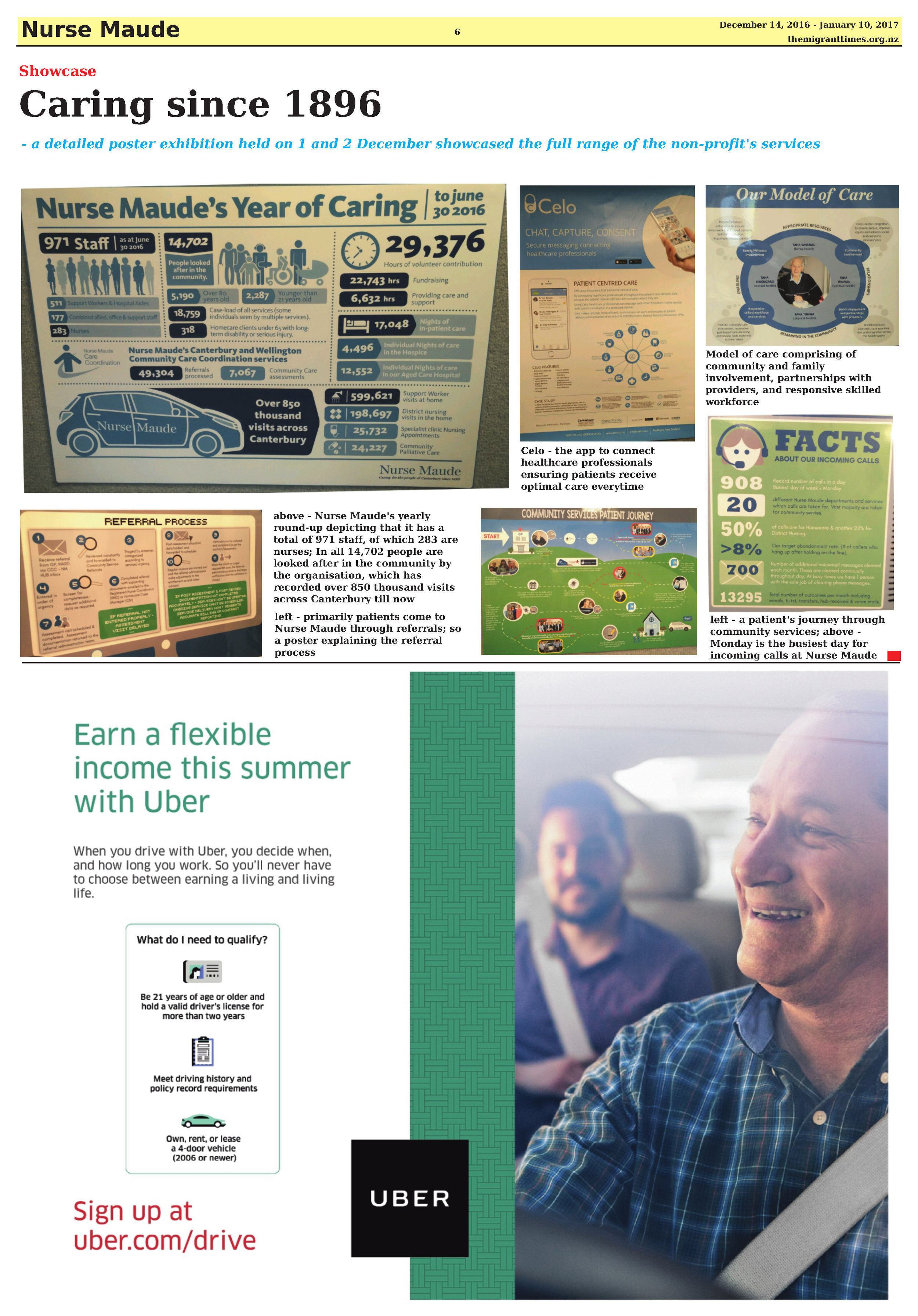 Click on the image to enlarge and read the printed version of the article