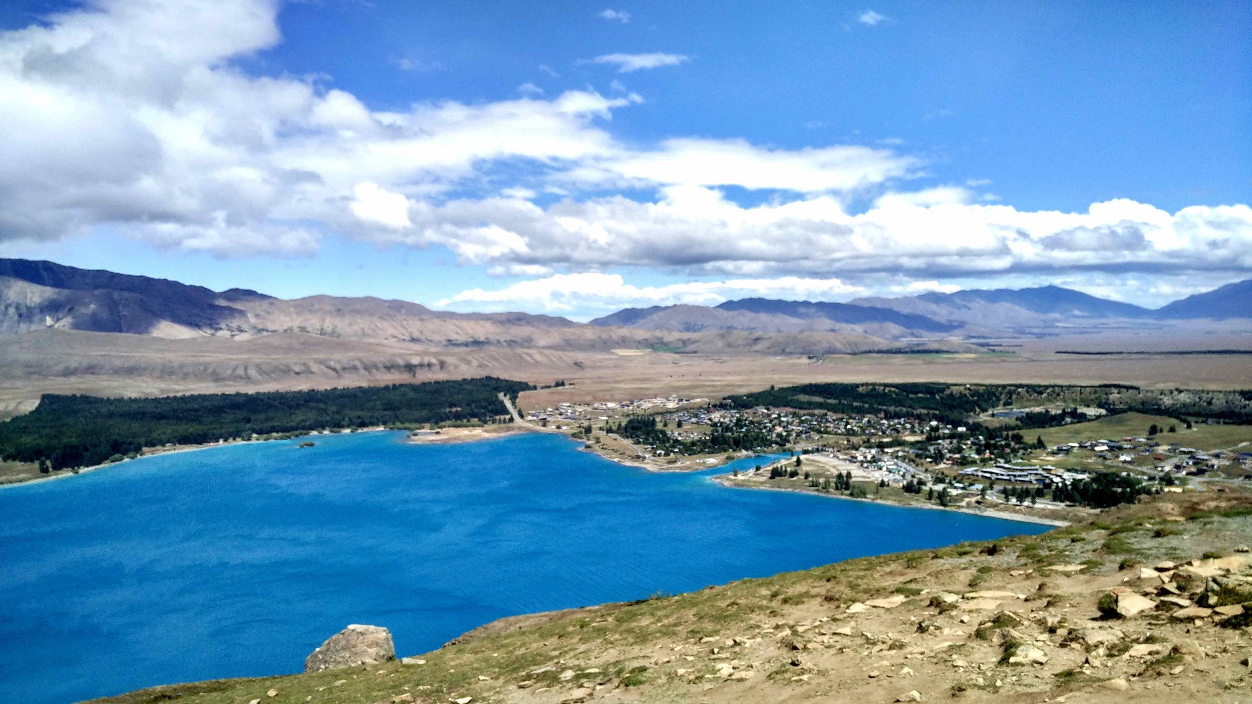 Lake Tekapo from Mt John Observatory