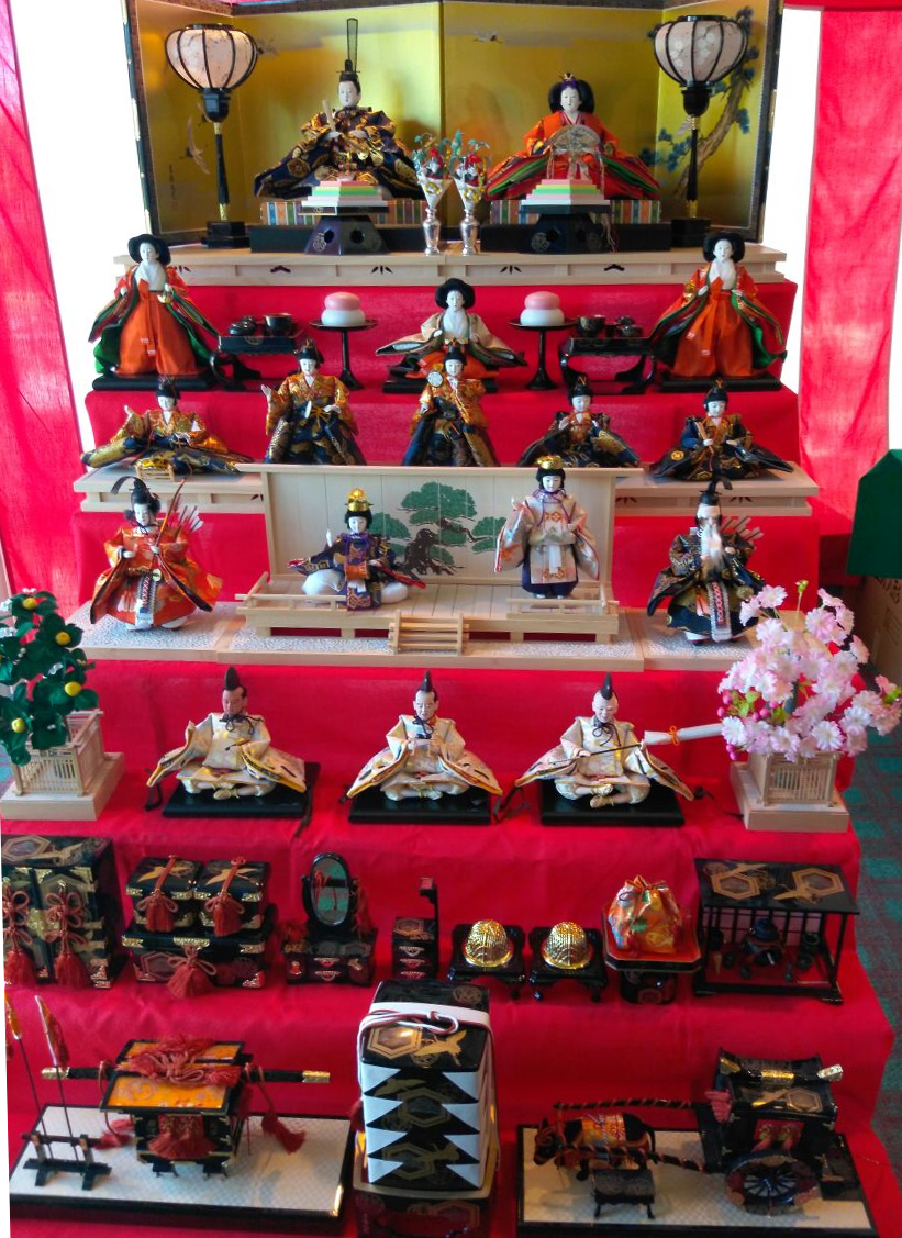 Hinamatsuri - Doll's Day, is celebrated on March 3 throughout Japan