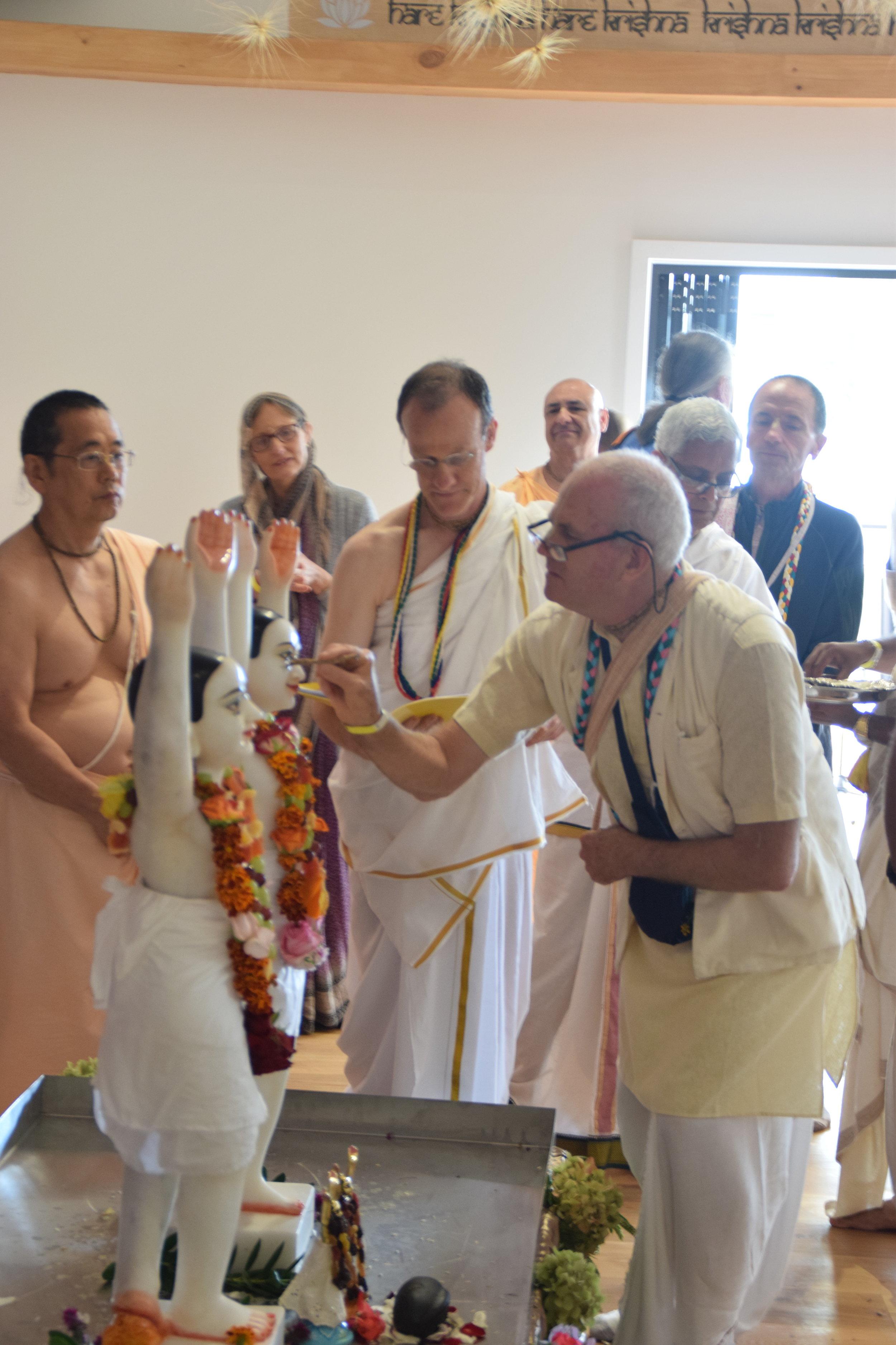 3_Installation ceremony of Sri Sri Nitai Gaurachandra.JPG