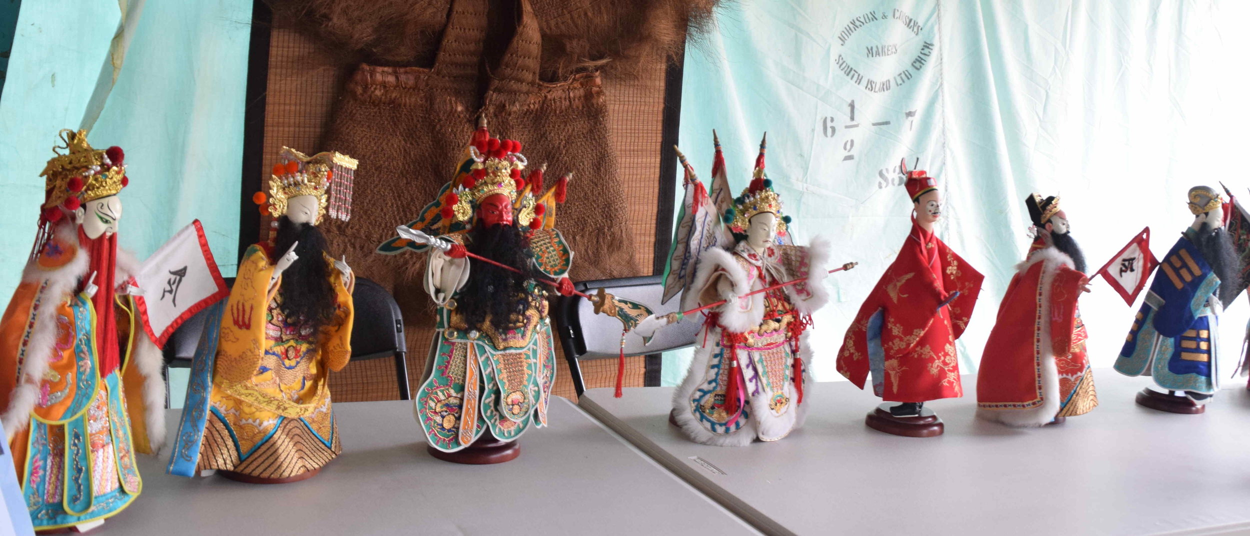 Taiwanese Hwa-Hsin Society NZ's puppetry display