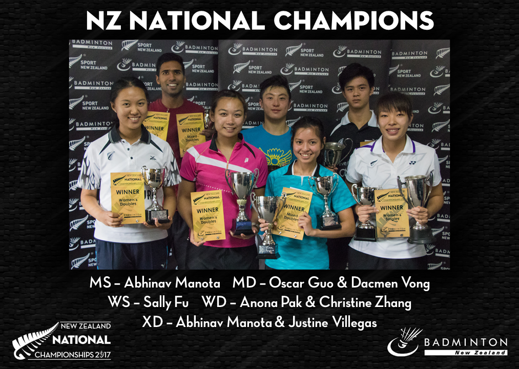 - All pictures in the above story are courtesy Badminton New Zealand.