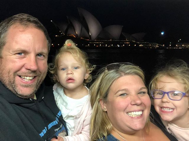Trying to get everyone in, all smiling and the Opera house..... impossible! Such a great day exploring this beautiful city with the family! I think my eldest is as in love with #sydney as I am! #plussizeadventure