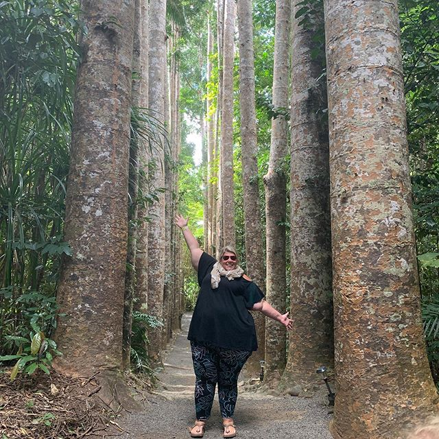 """In nature, nothing is perfect and everything is perfect. Trees can be contorted, bent in weird ways, and they're still beautiful."" Alice Walker #plussizeadventure"
