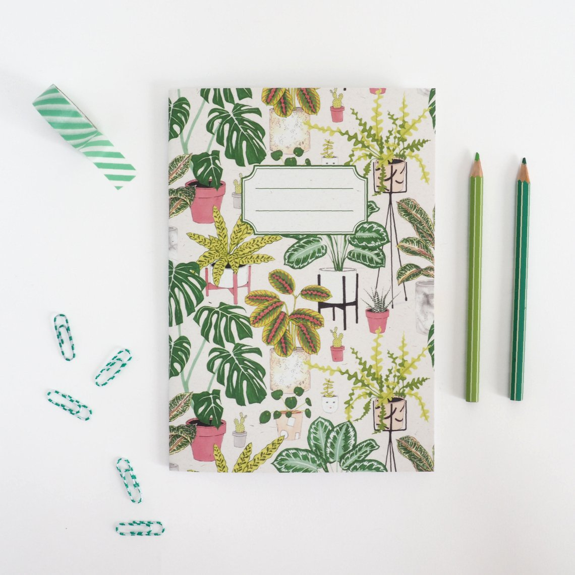 Houseplant notebook , £3 from Jacqueline Colley.