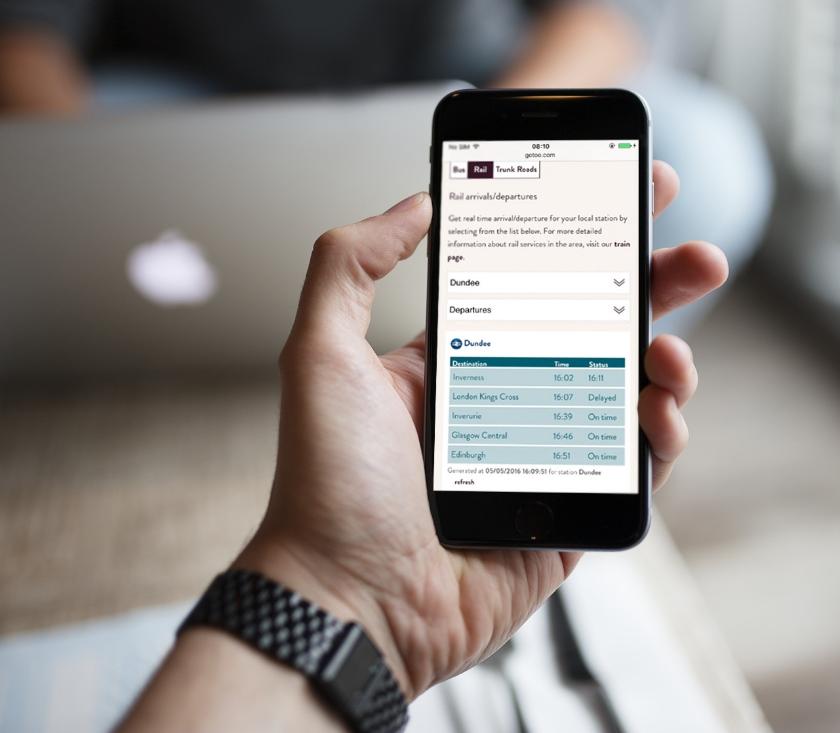 Mobile responsive browser