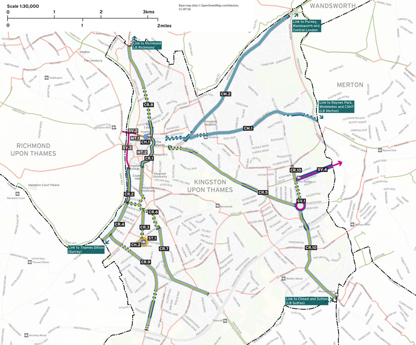 Cycle network plan