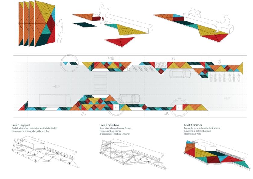 Installation process, general arrangement and structural concept design