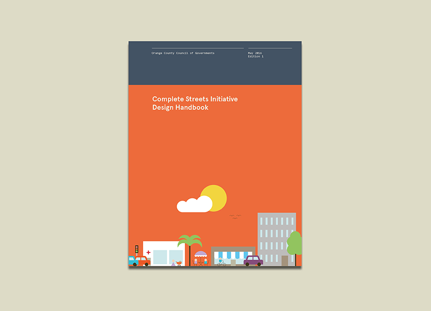 Complete Streets Initiative Design Handbook cover