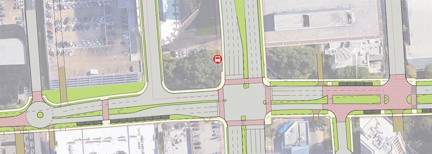 Timmons Lane Complete Streets redesign