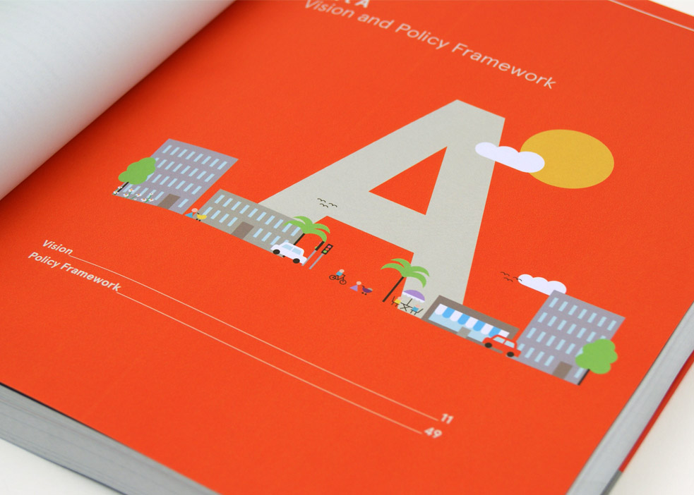 We developed a visual identity to promote the project and help explain complex information in a clear way