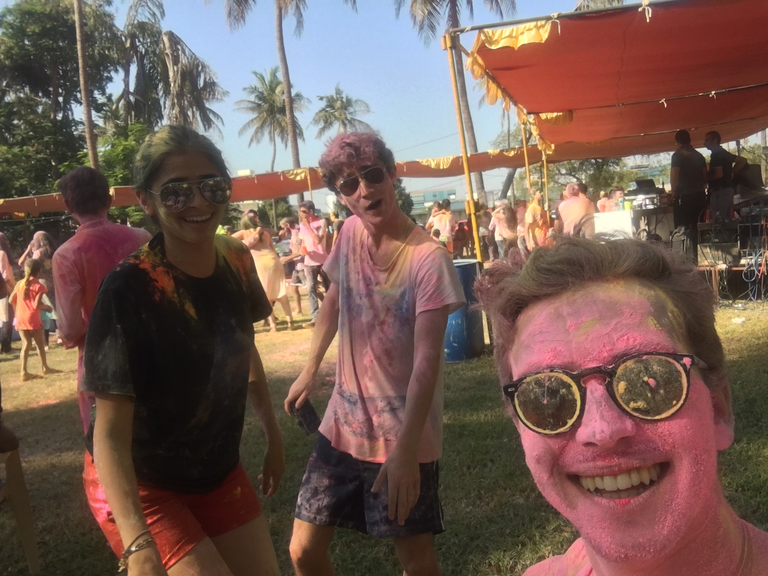 A gem from Holi last week
