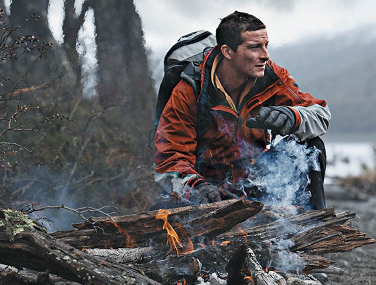 Bear Grylls. You may know him from his TV show: Man vs. Wild