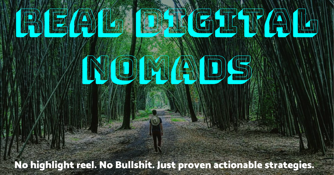 Real Digital Nomads - Facebook Group - Adrien Harrison of Echo Studio