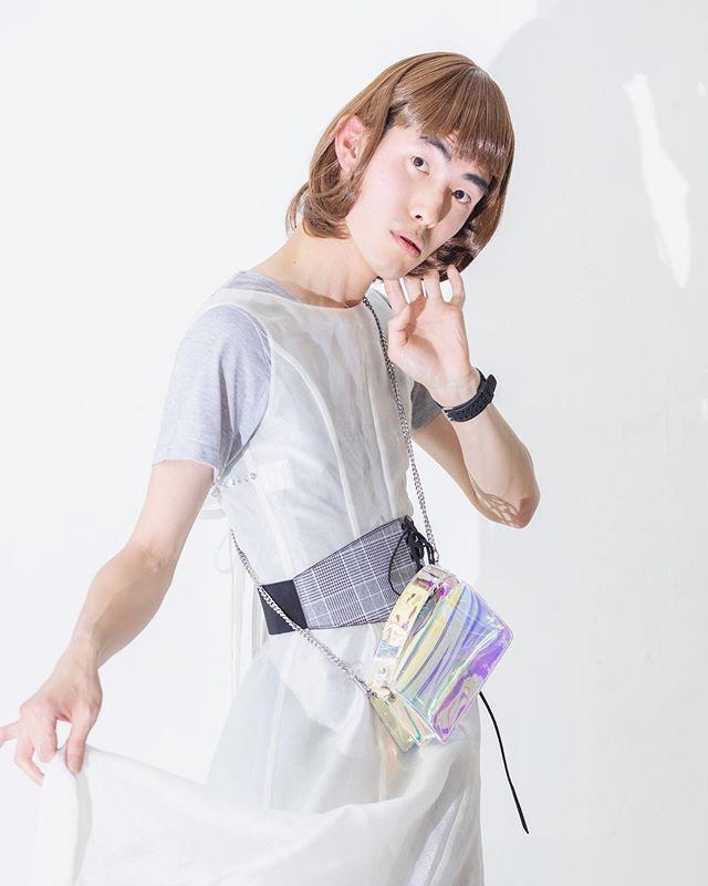 スワッピングデイ 1 Styling👗 @mitsushi_yanaihara  Makeup💄 @tomoya.makeup  #blanclass #mitsushiyanaihara #nibrollaboutstreet #beronica #ナカダイ #fashionphotoshoot #makeup #transgender #女装 #男装