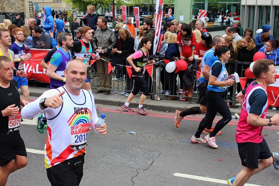 Nick JCW London Marathon