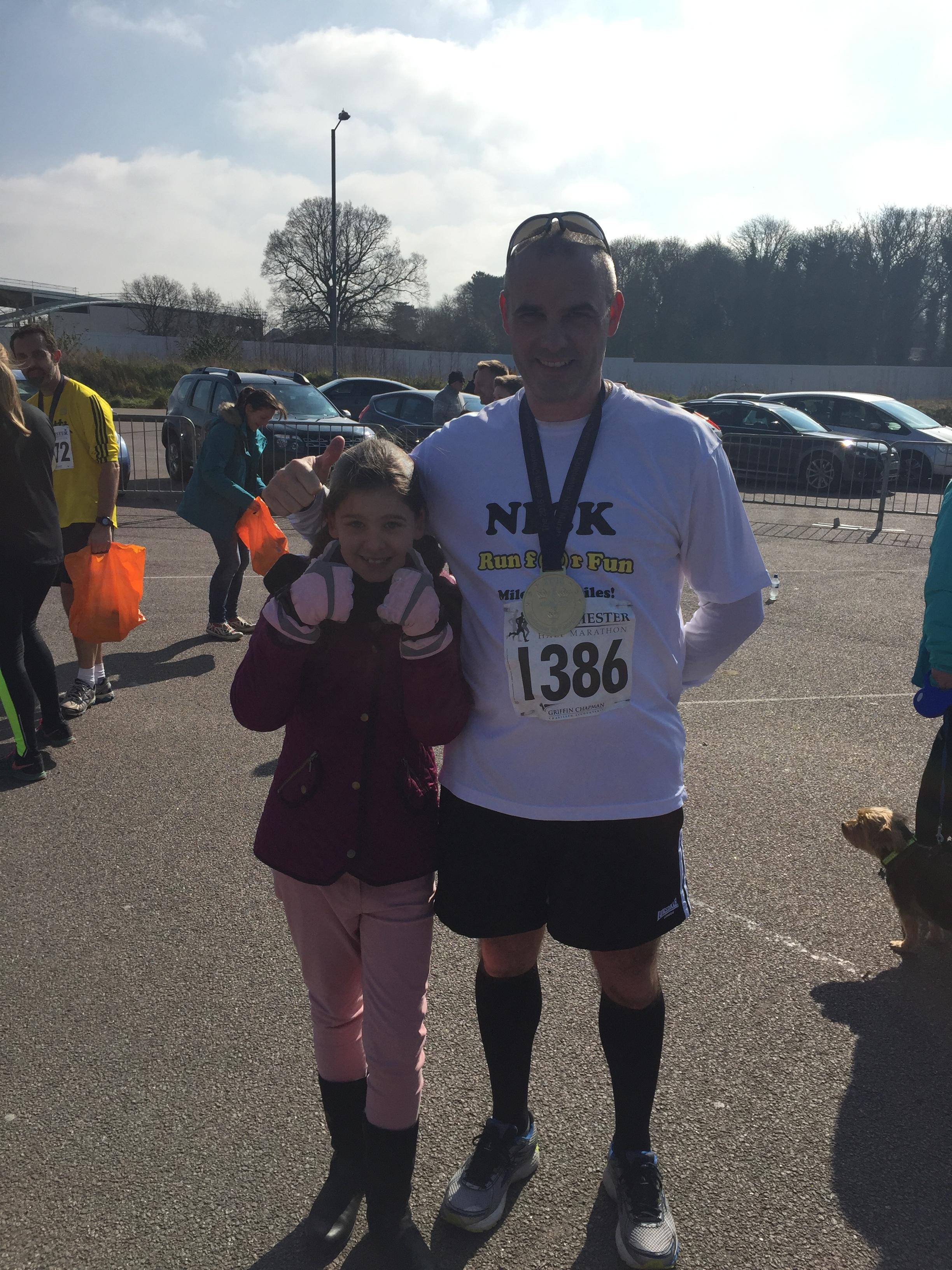 Nick Family London marathon