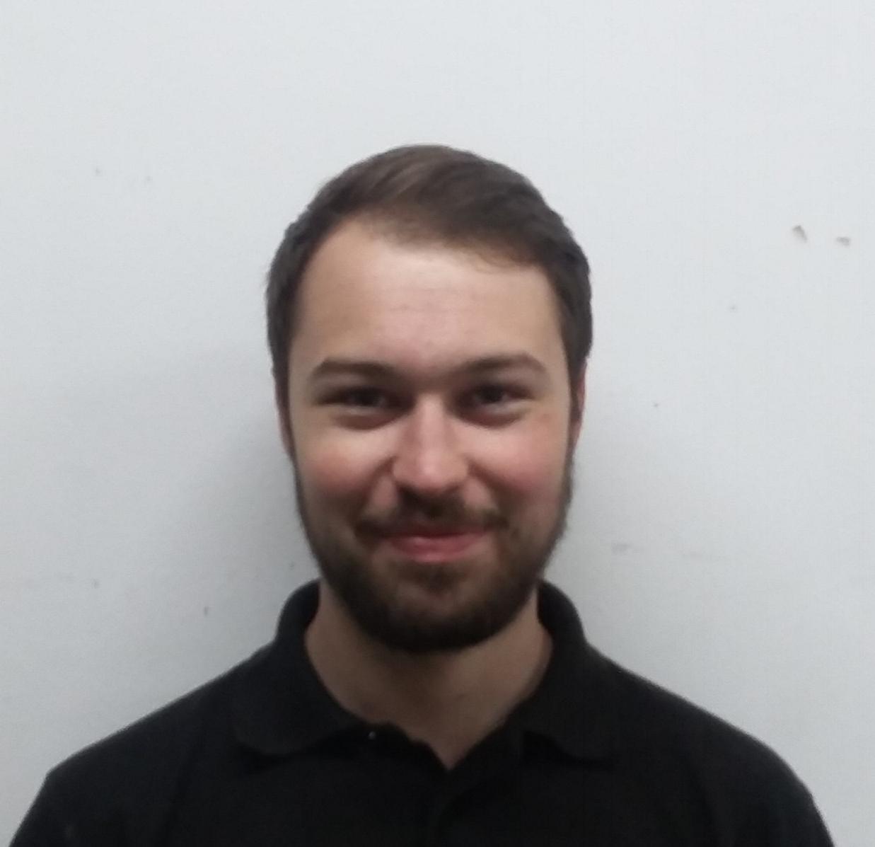 Freddie Morris Apprentice Engineer