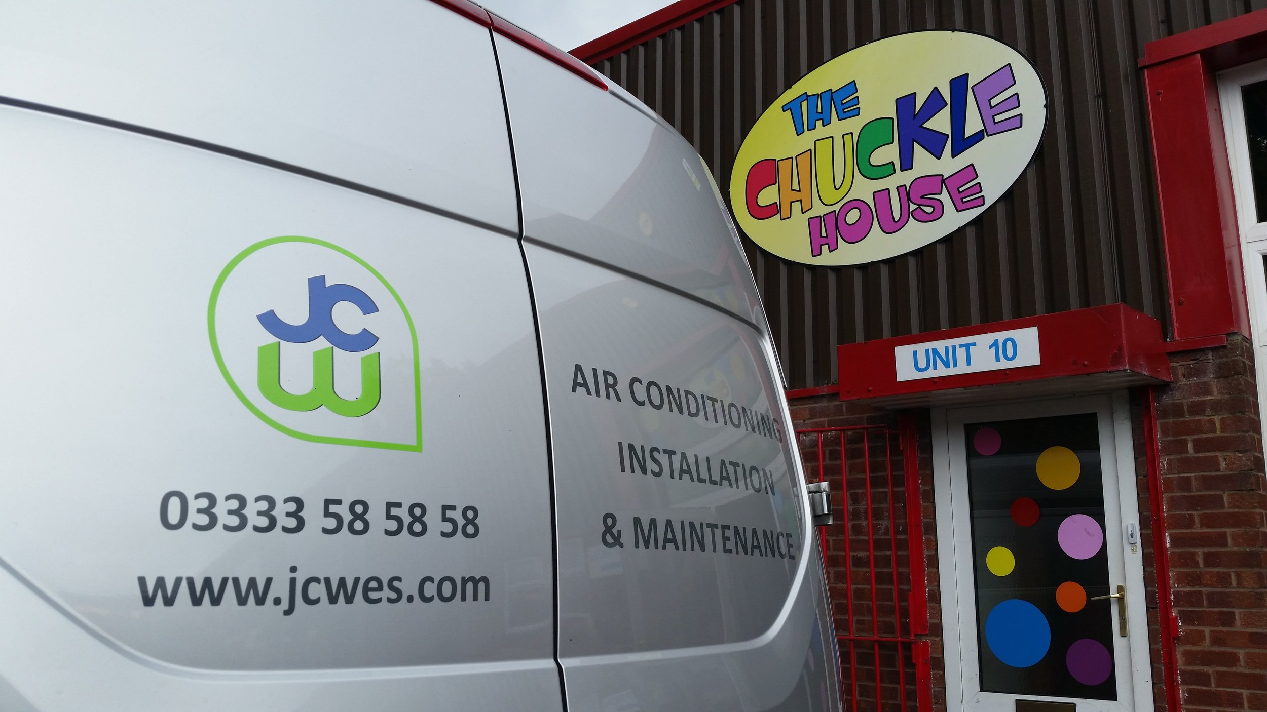 chuckles jcw air conditioning installation