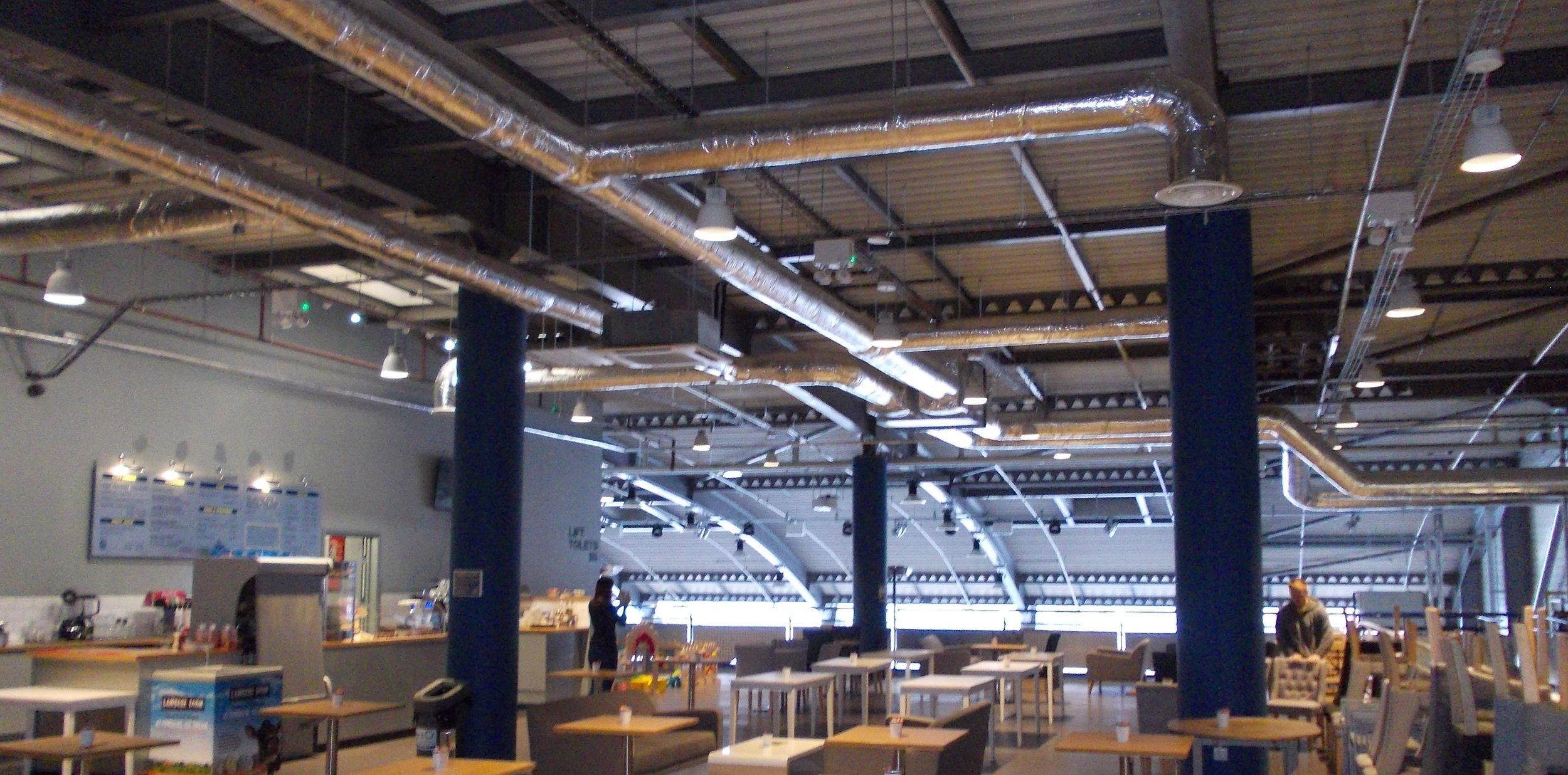 The Ship Restaurant HVAC Ventilation Maintenance