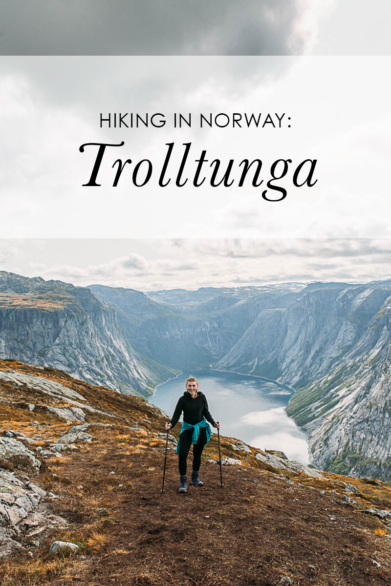 Bronwyn Townsend Trolltunga Hiking guide