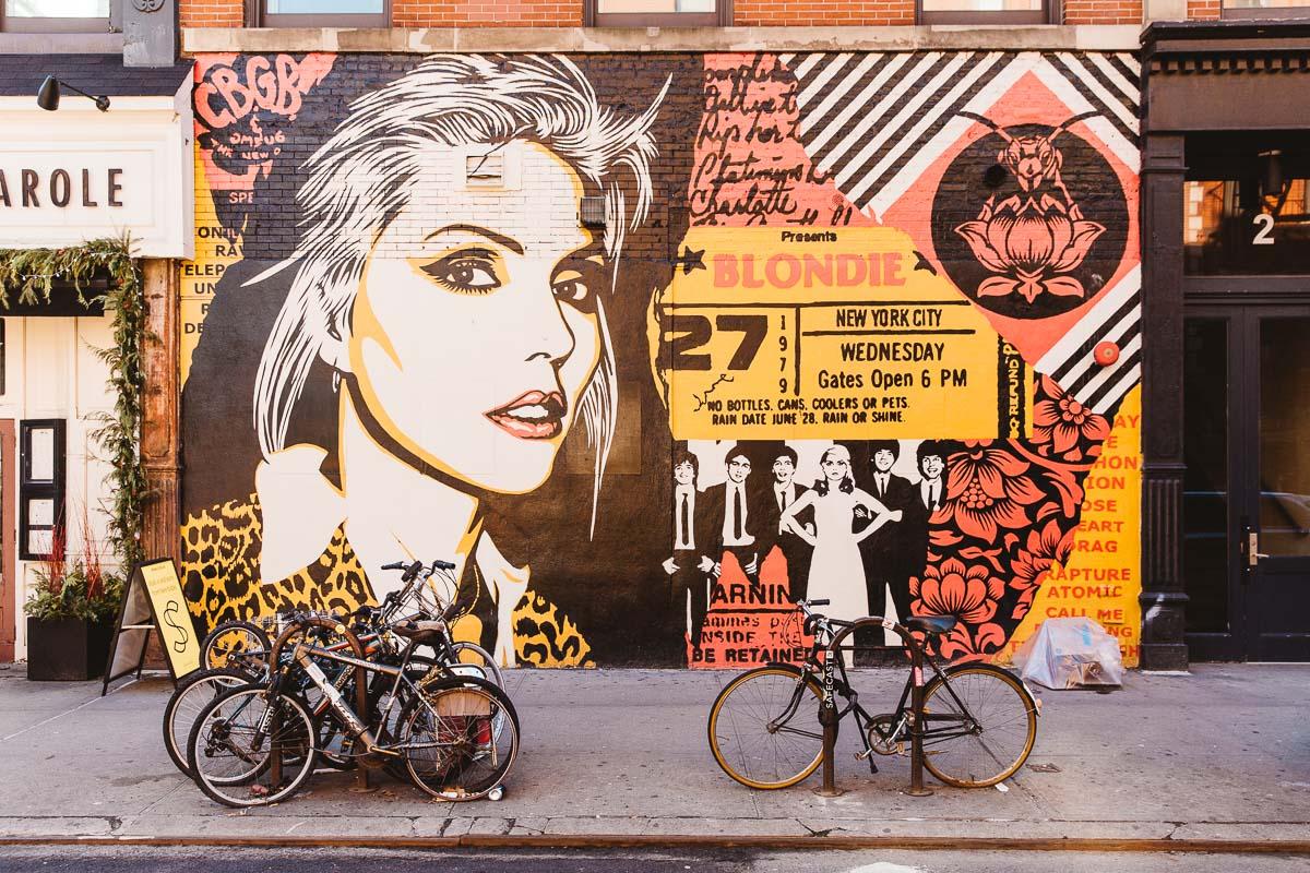 NYC Street art Bronwyn Townsend