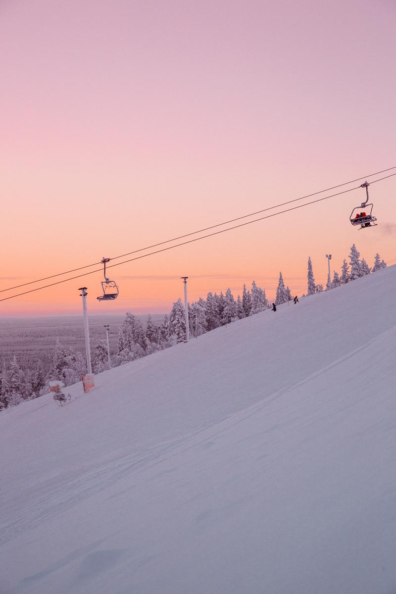 Sunset Finland Levi Bronwyn Townsend