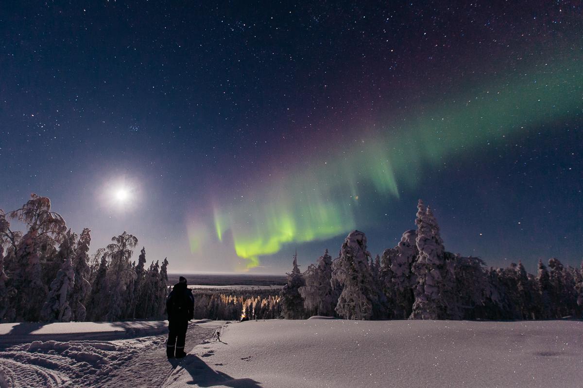 Bronwyn Townsend Lapland Northern Lights