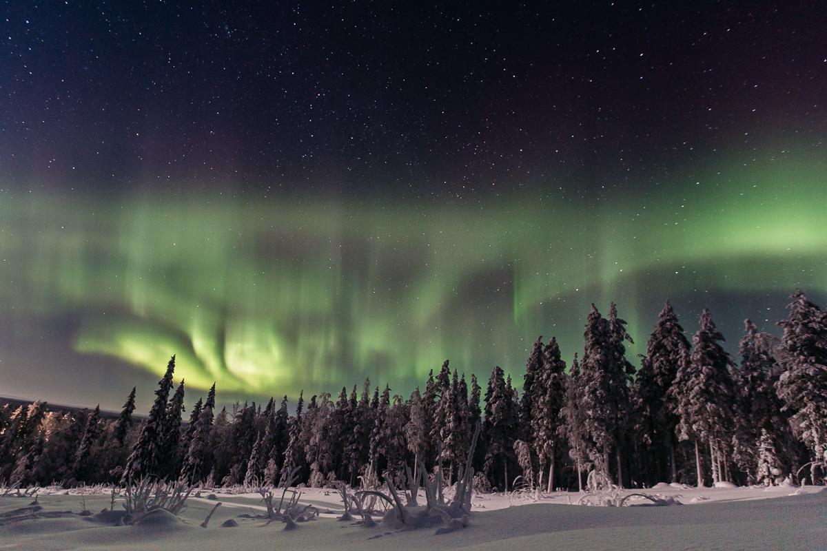Bronwyn Townsend Lapland Finland Northern Lights