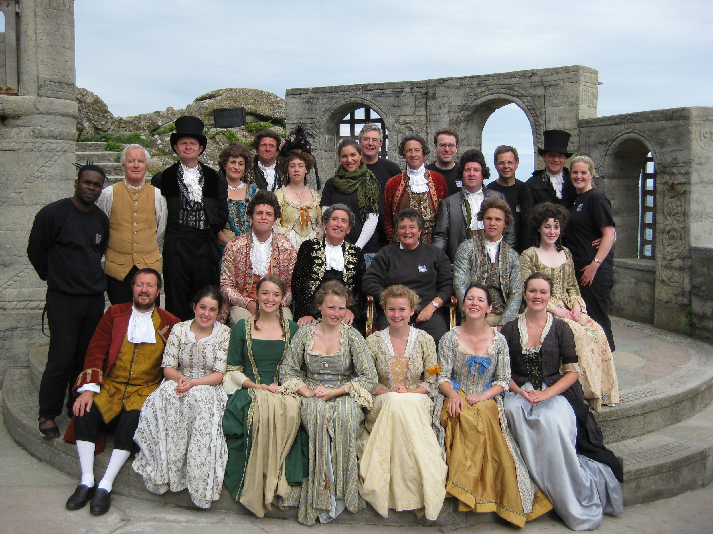 The cast and crew of Amadeus (2009)