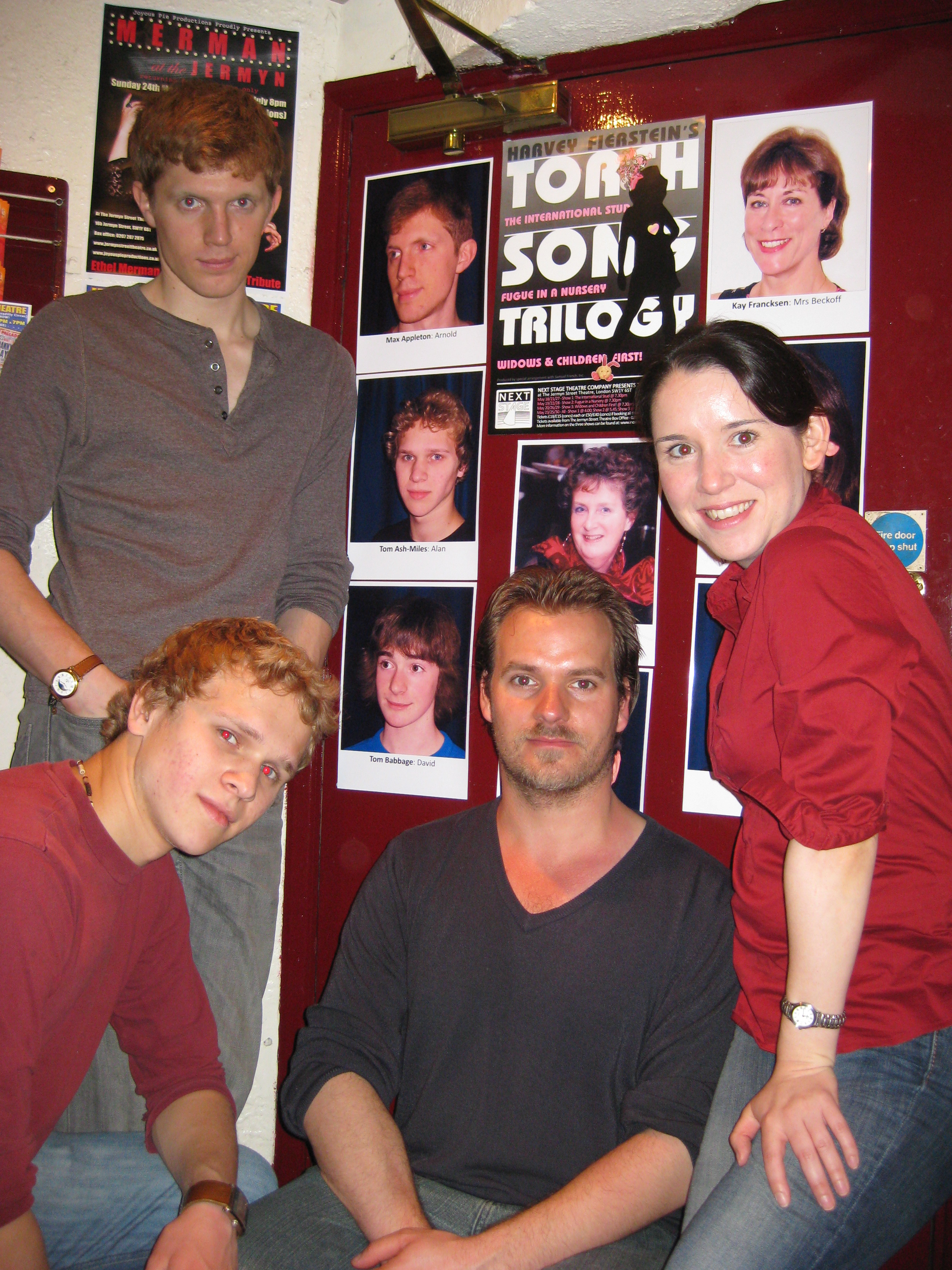 Some of the cast of Torch Song Trilogy (2009)