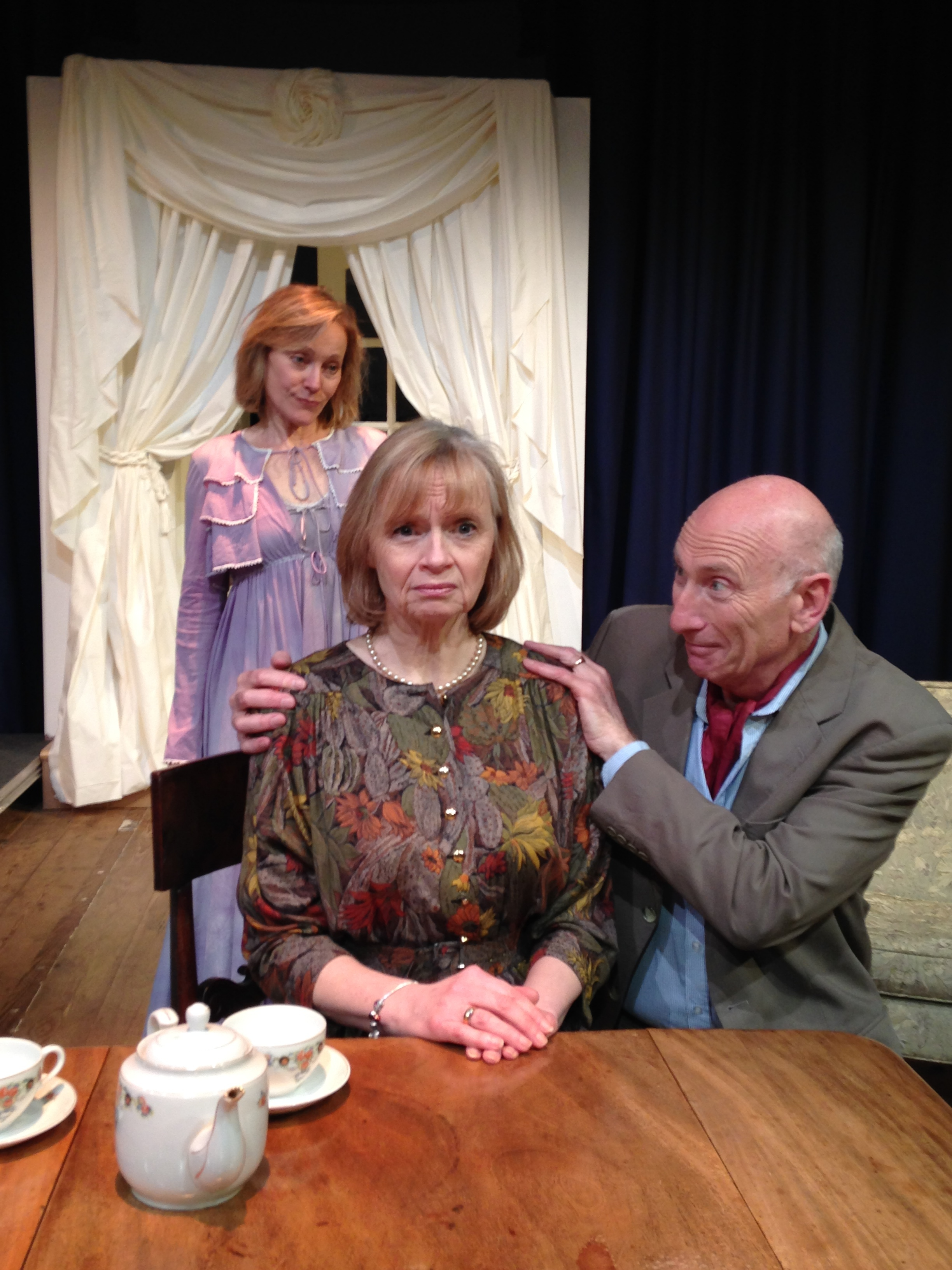 From left - Elvira (played by Caroline Groom) Ruth (played by Barabara Ingledew) and Charles (played by Lewis Cowen).jpg