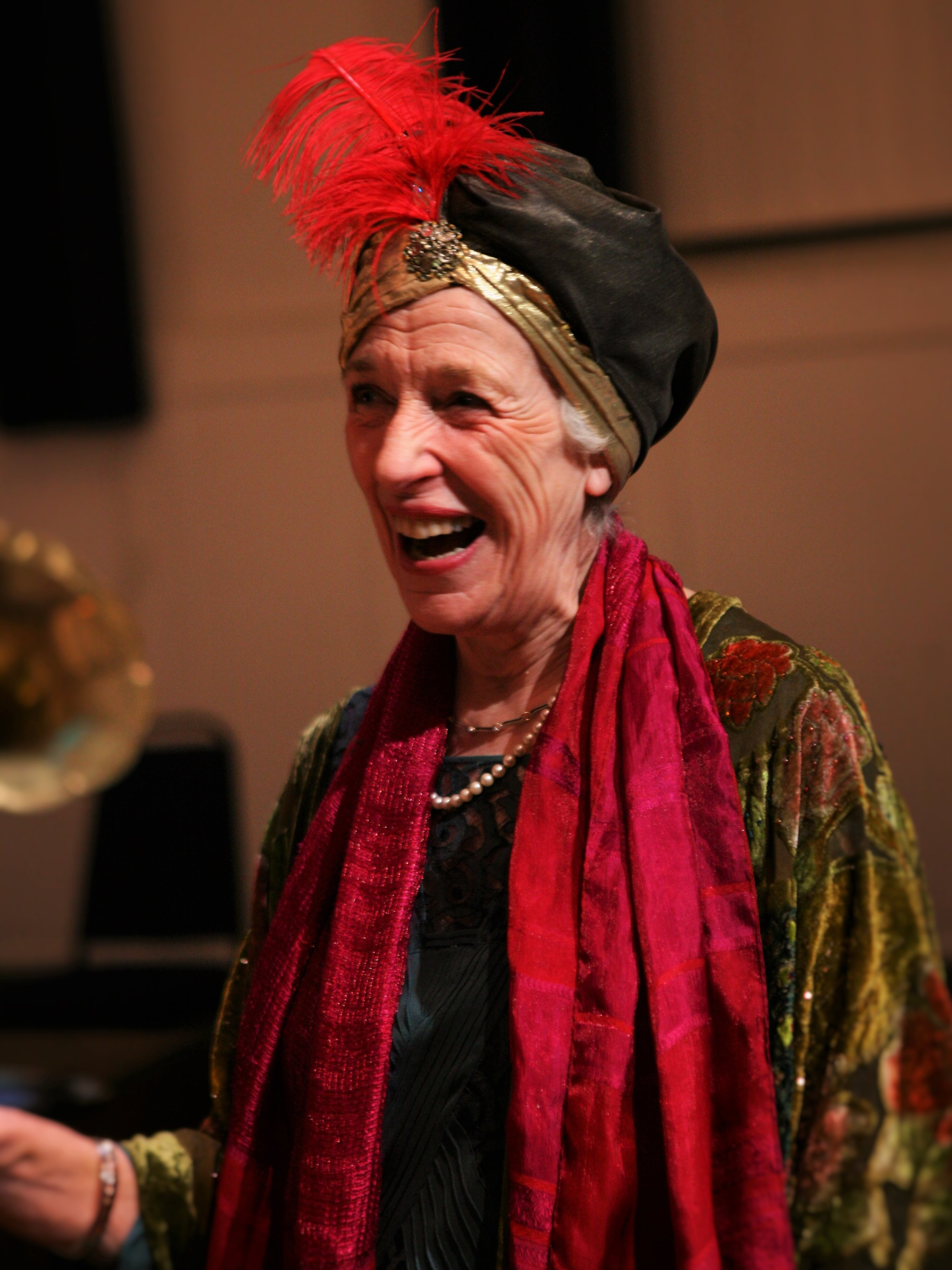 Madame Arcati - played by Joanna Bowman.JPG