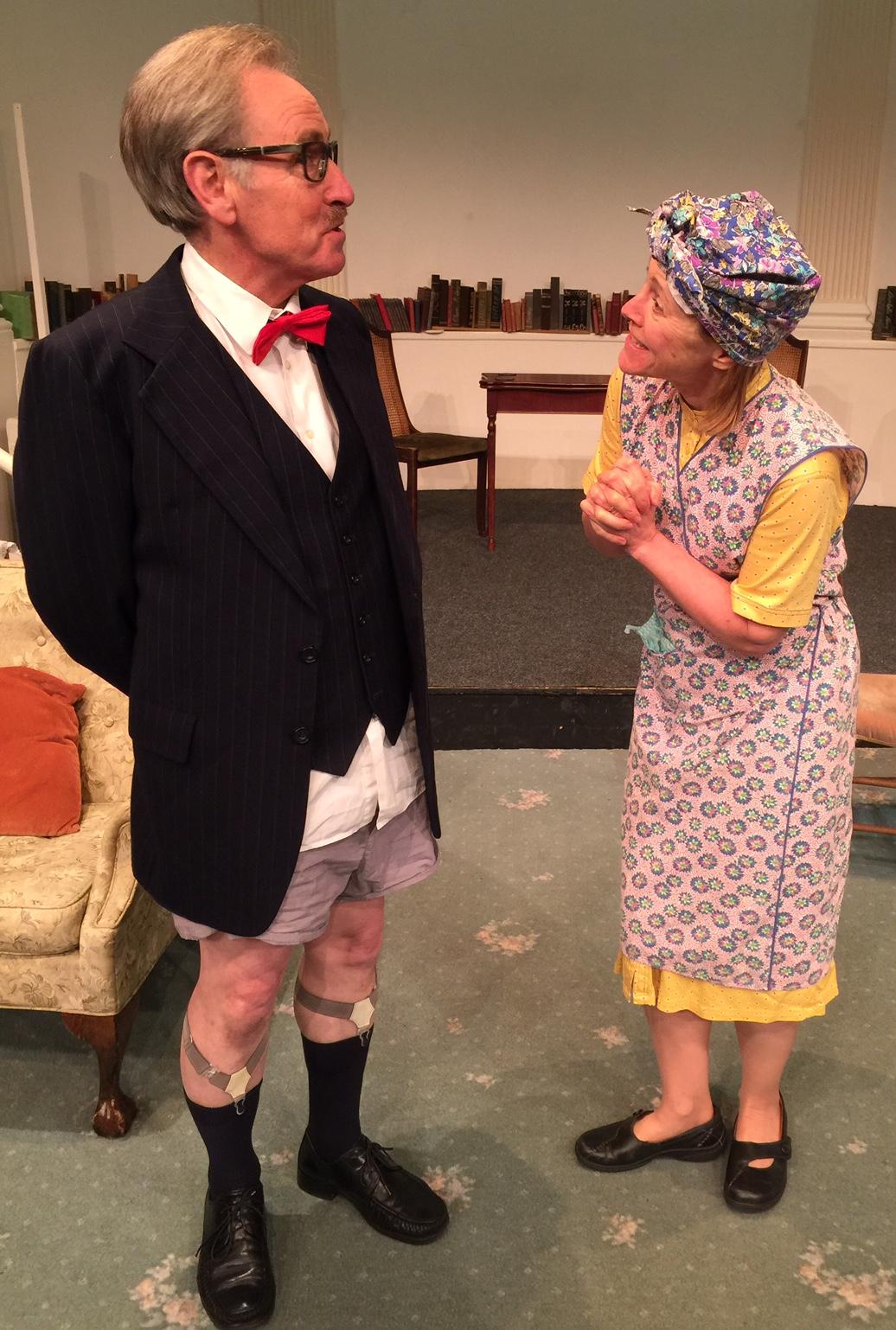 John Matthews - Sir Percy Shorter, Caroline Groom - Mrs Swabb.jpg