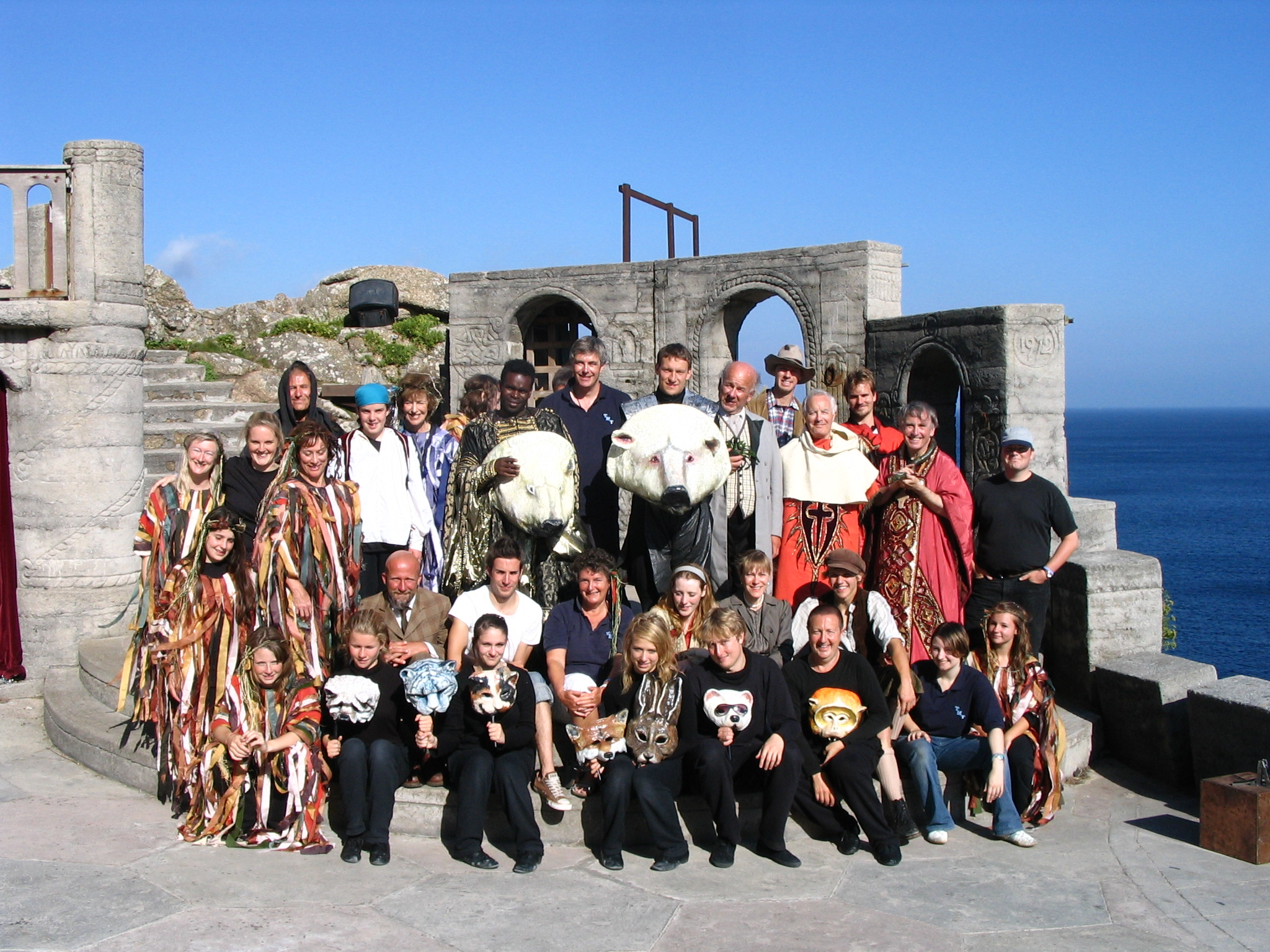 The cast and crew of His Dark Materials (2007)