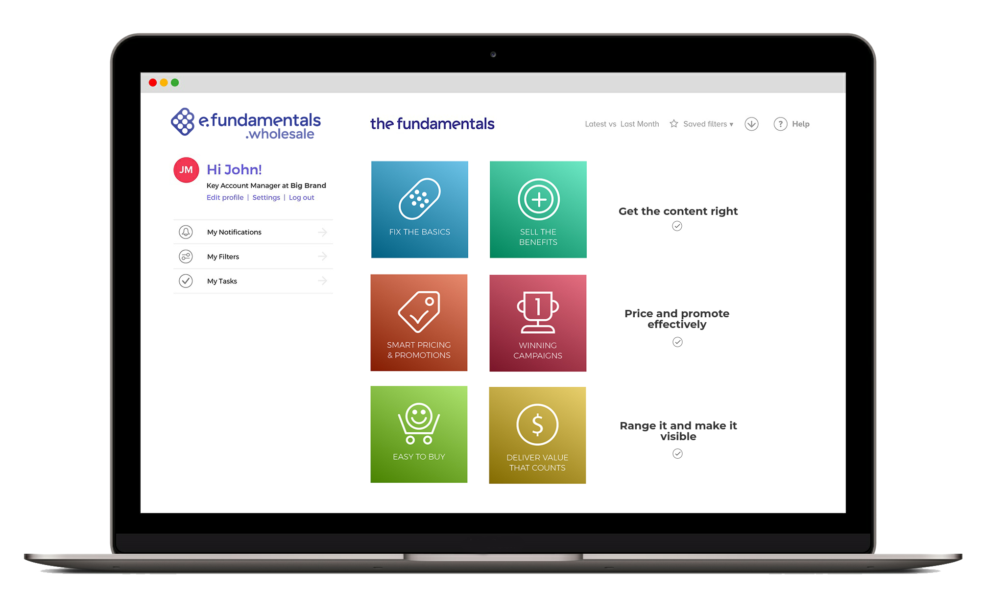 Wholesale e.fundamentals platform image