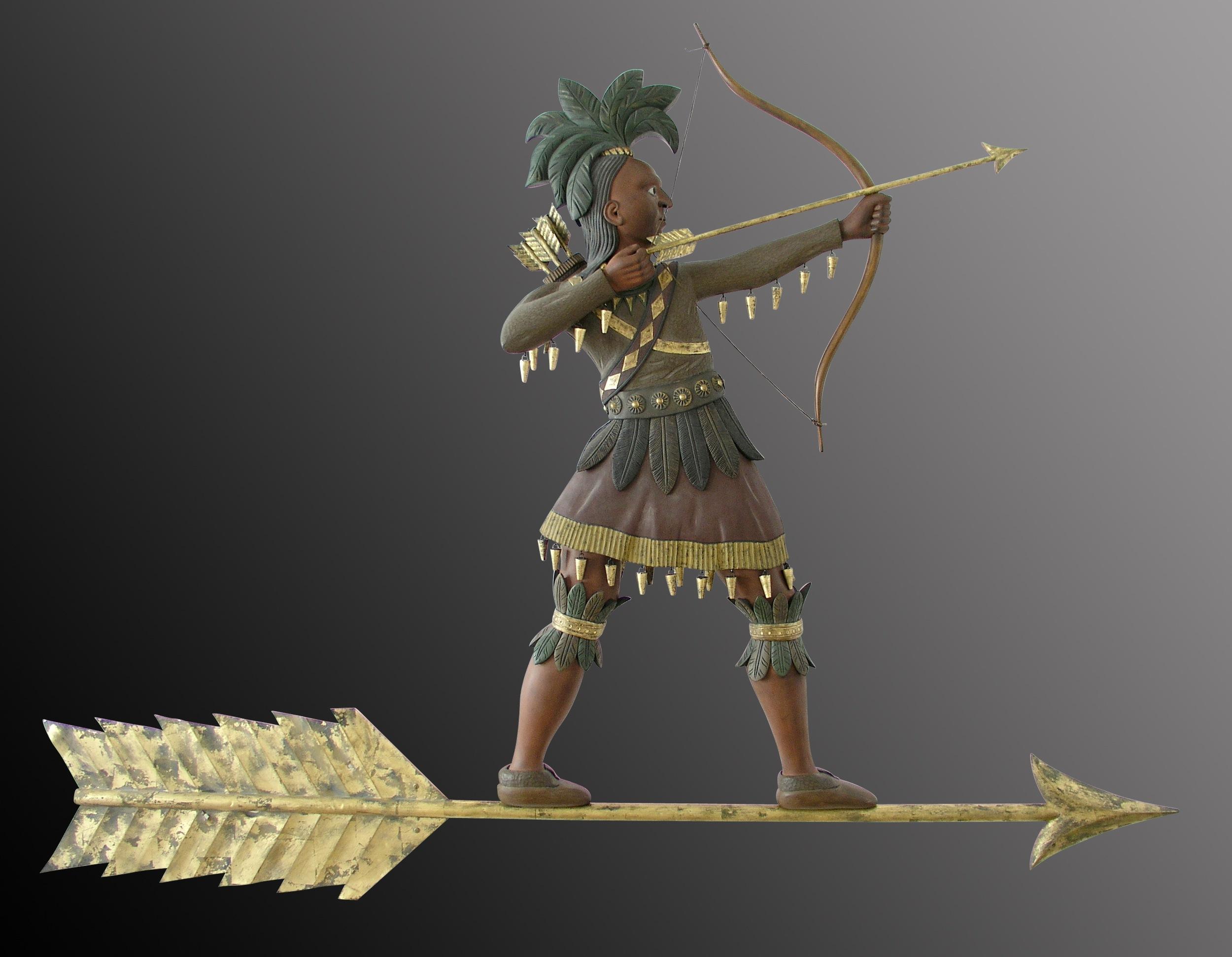 Indian on an Arrow