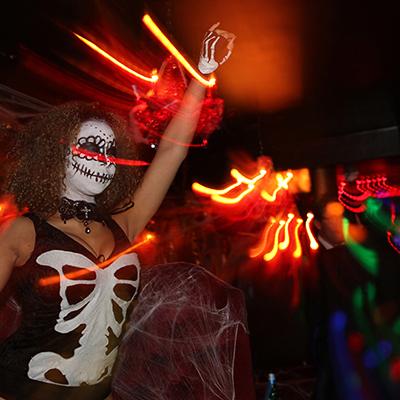 Landid halloween party