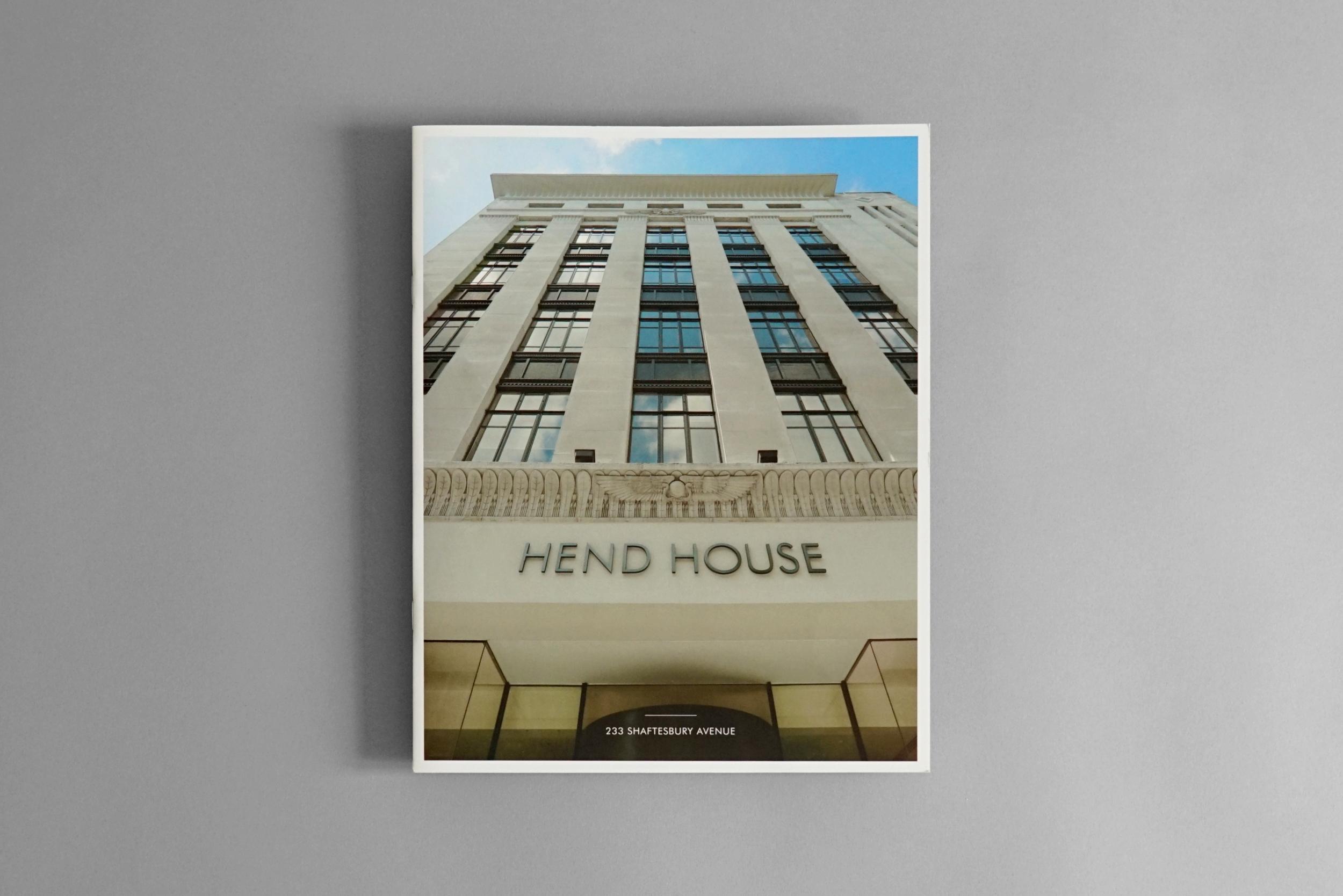Hend House Sales Brochure 1