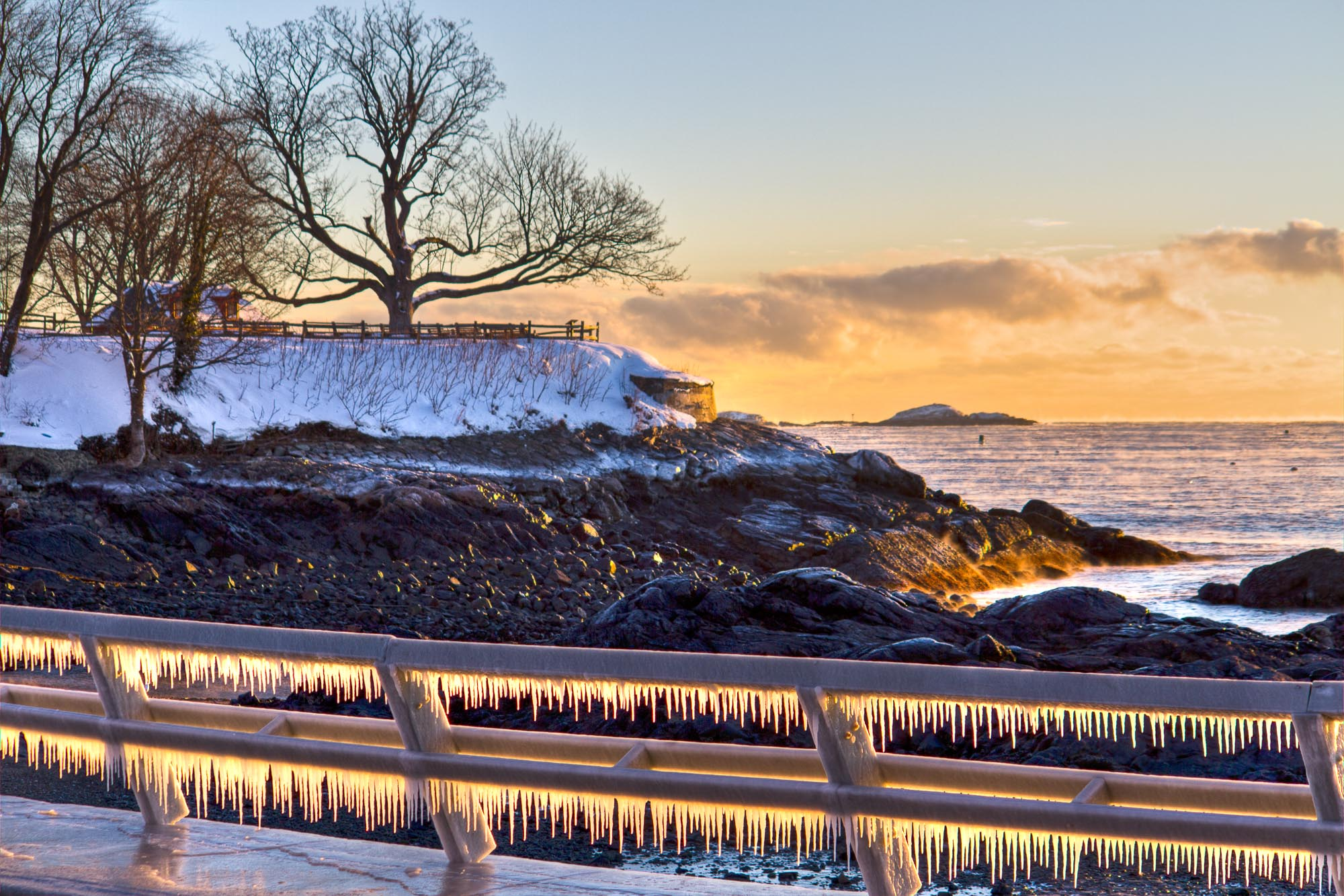 Fort Beach Icicles