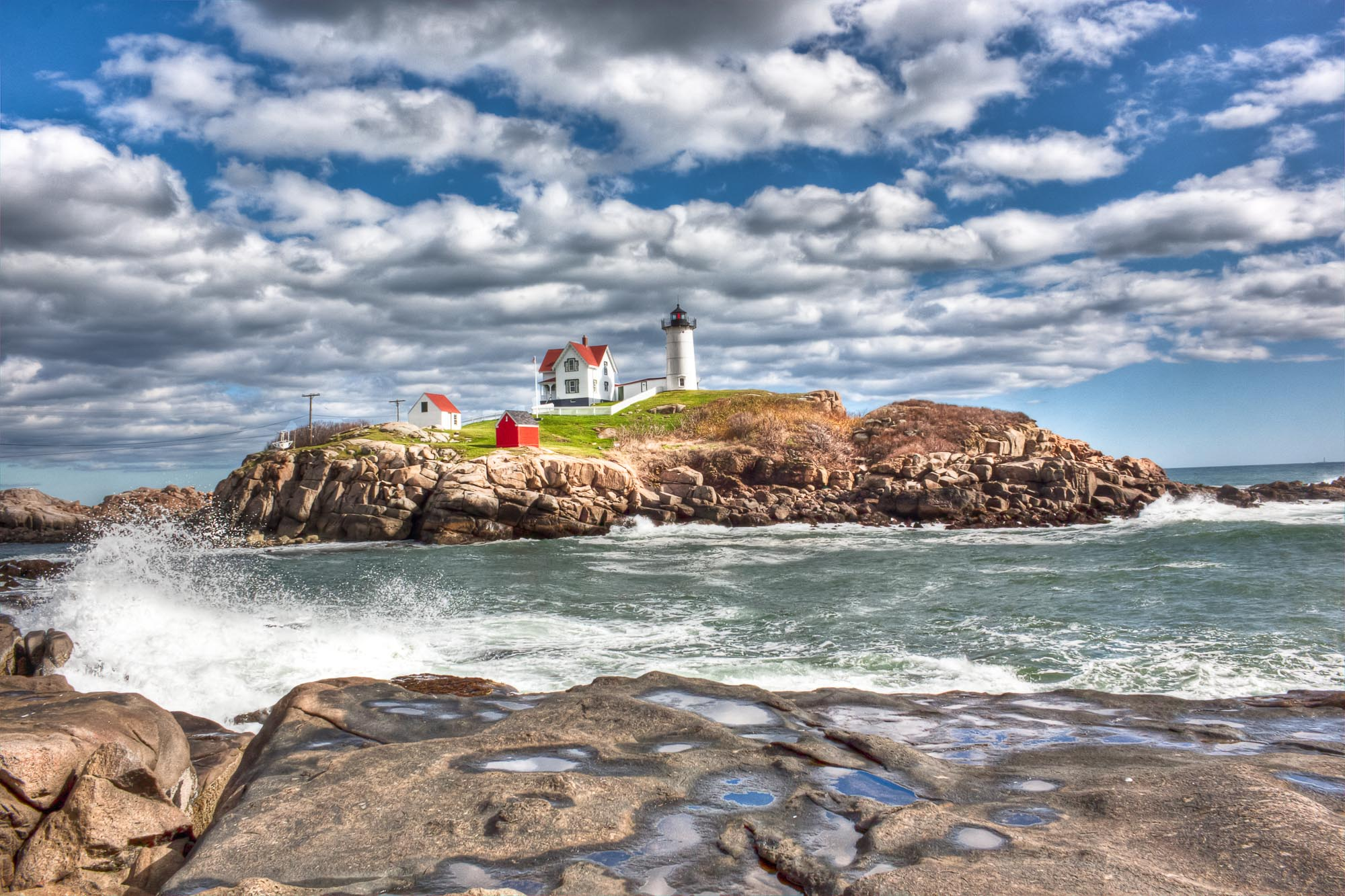 """Nubble Lighthouse"""
