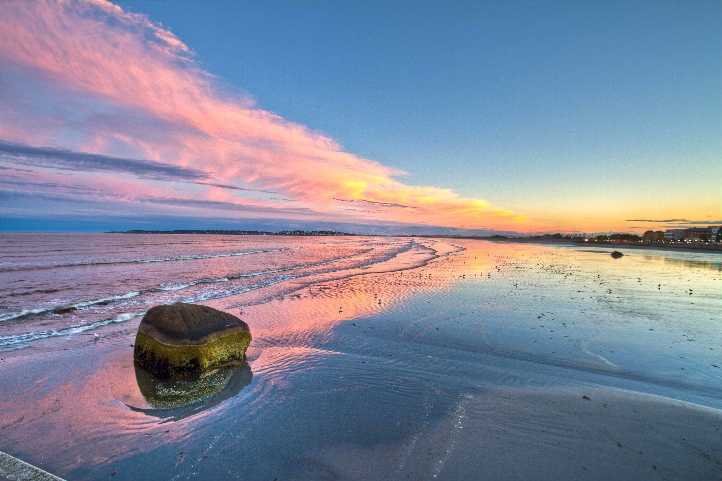 Lynn Shore Drive Sunset