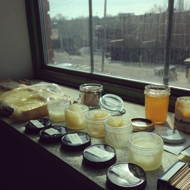 Urban honey sampling. (at The Plant)