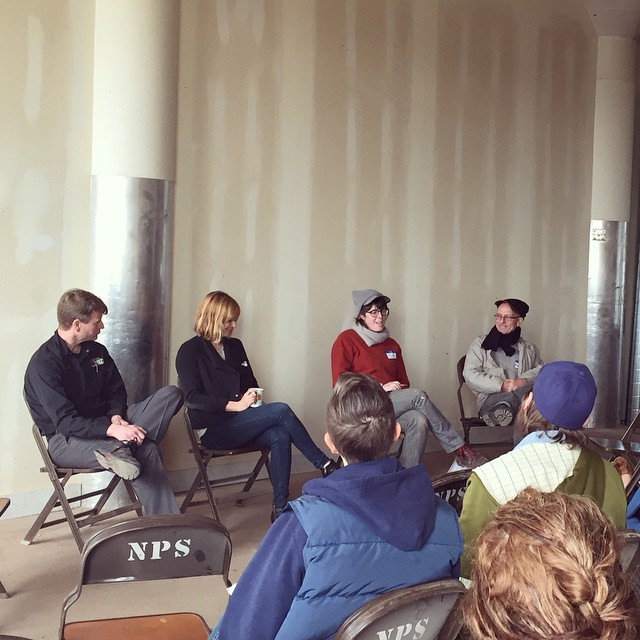 I'm so lucky. Got to speak on a panel of beekeeping heroes at the Midwest Urban Farmers Summit today. 🐝 (at The Plant)