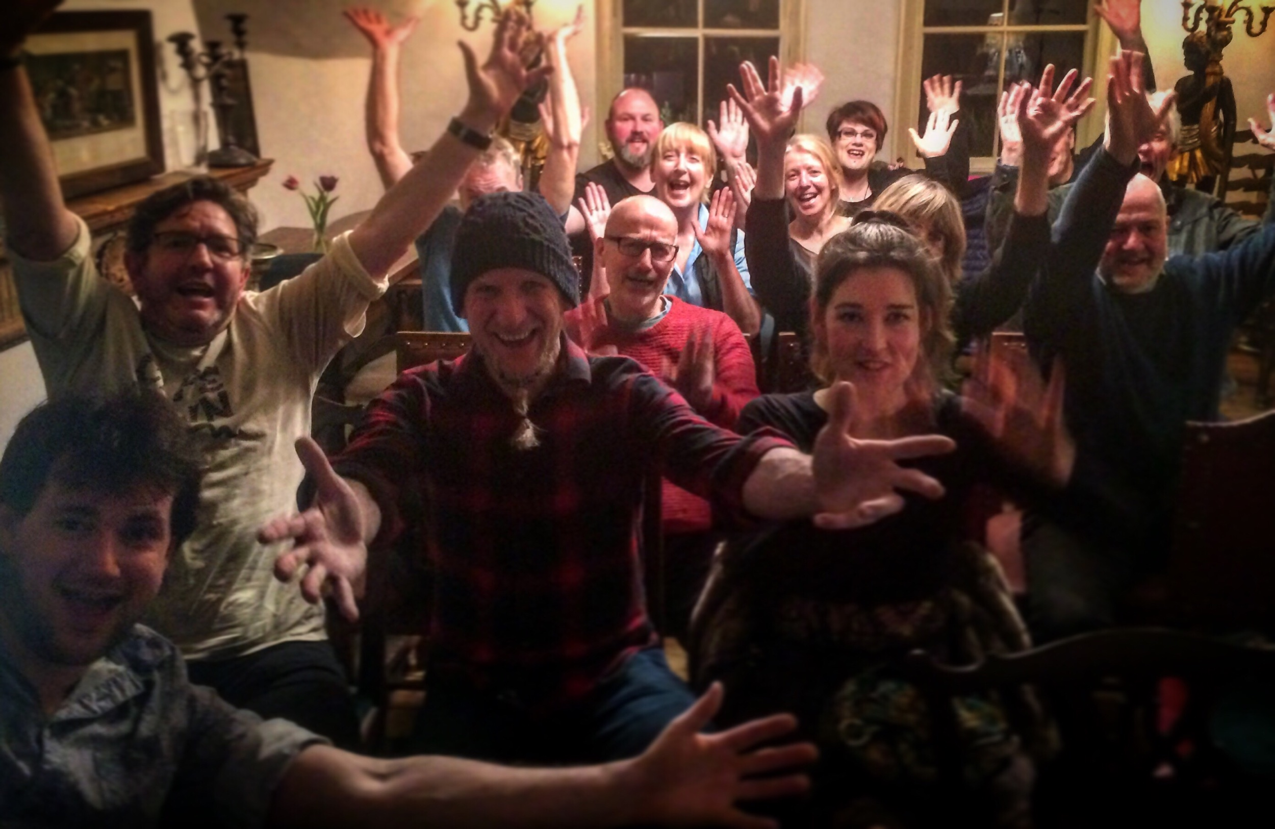 The audience at Three Swans, Frome